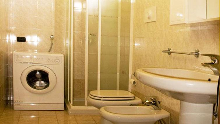 Bathroom at Oasi Di Monza Apartments