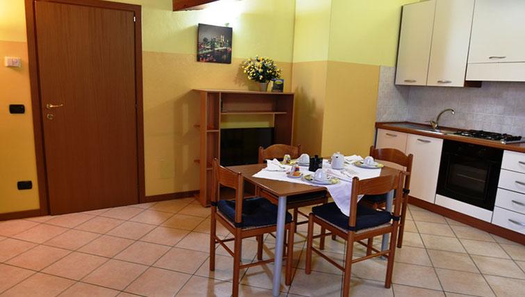 Dining area at Oasi Di Monza Apartments