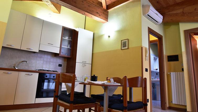 Kitchen at Oasi Di Monza Apartments