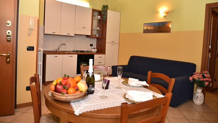 Table at Oasi Di Monza Apartments