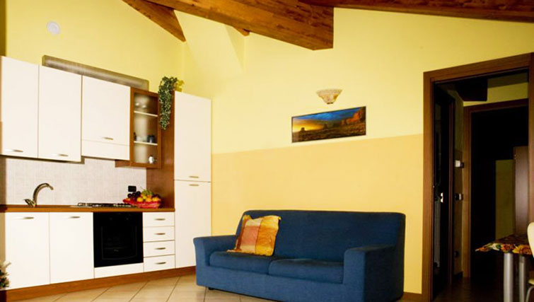Living area at Oasi Di Monza Apartments