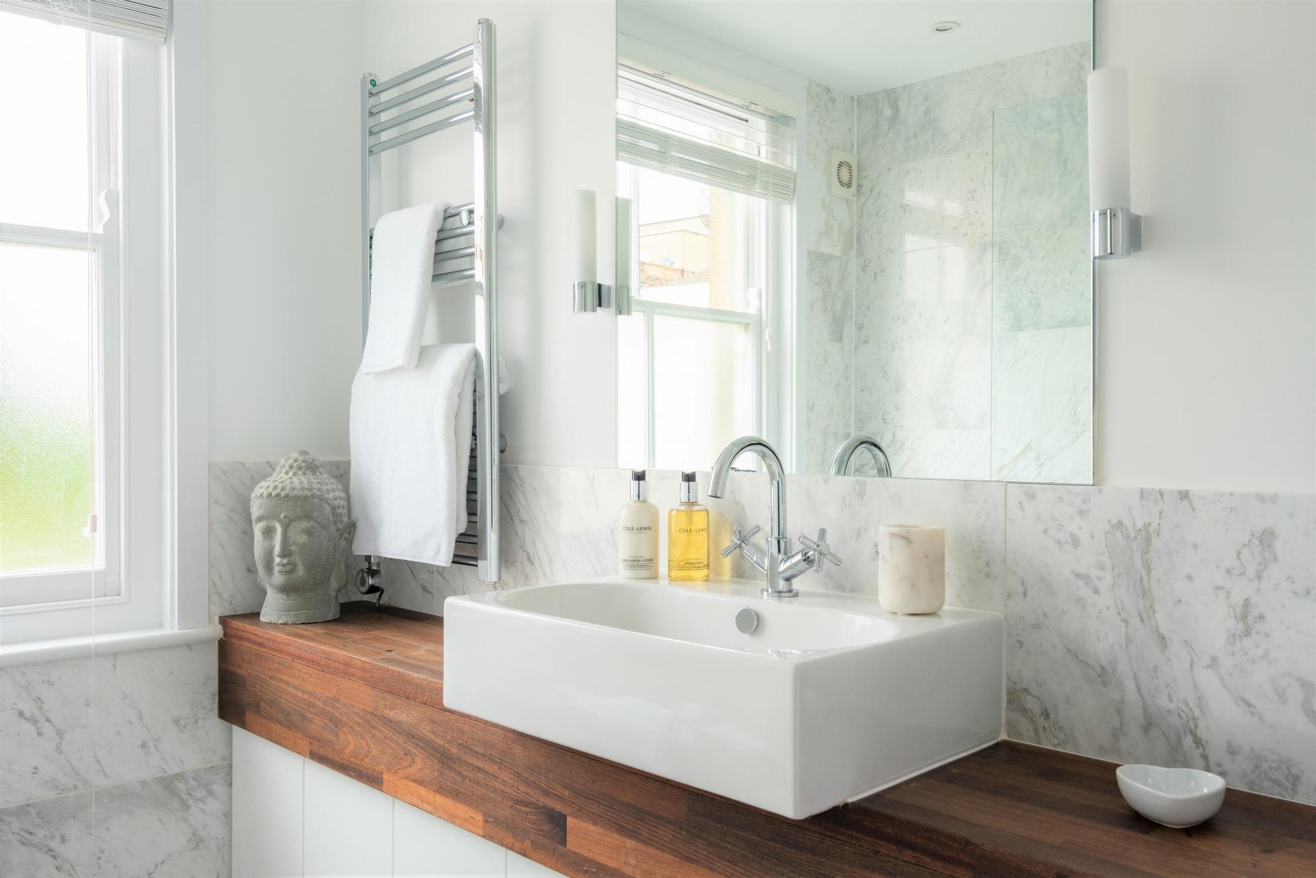 Bathroom vanity at 20 Montpellier Spa Road