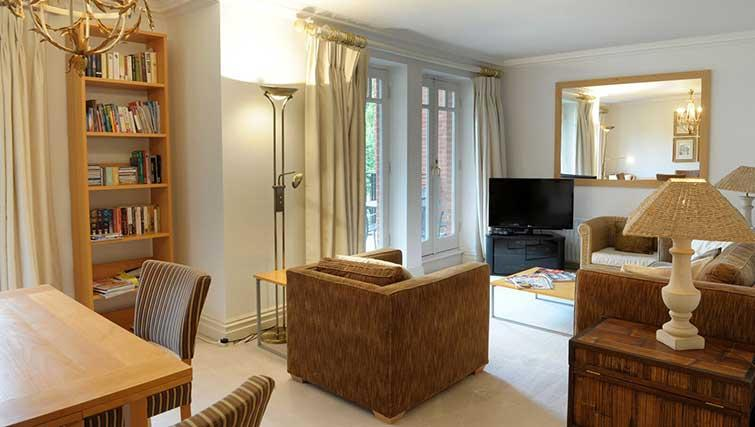 Living area in Clevedon House