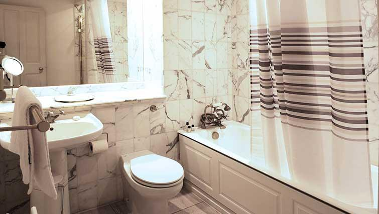 Modern bathroom in Clevedon House