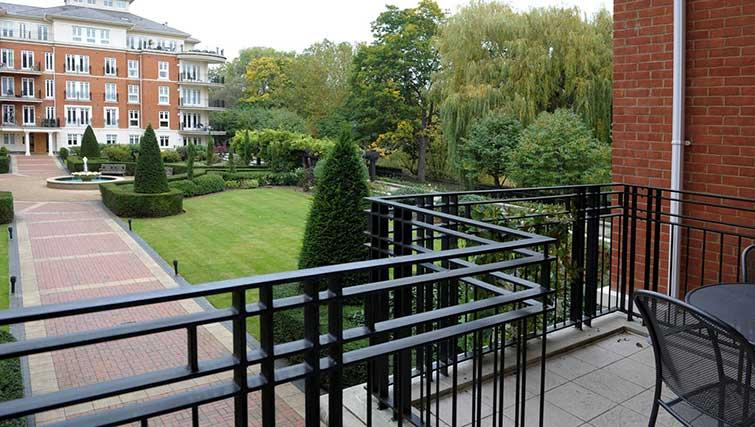 Balcony at Clevedon House Apartment