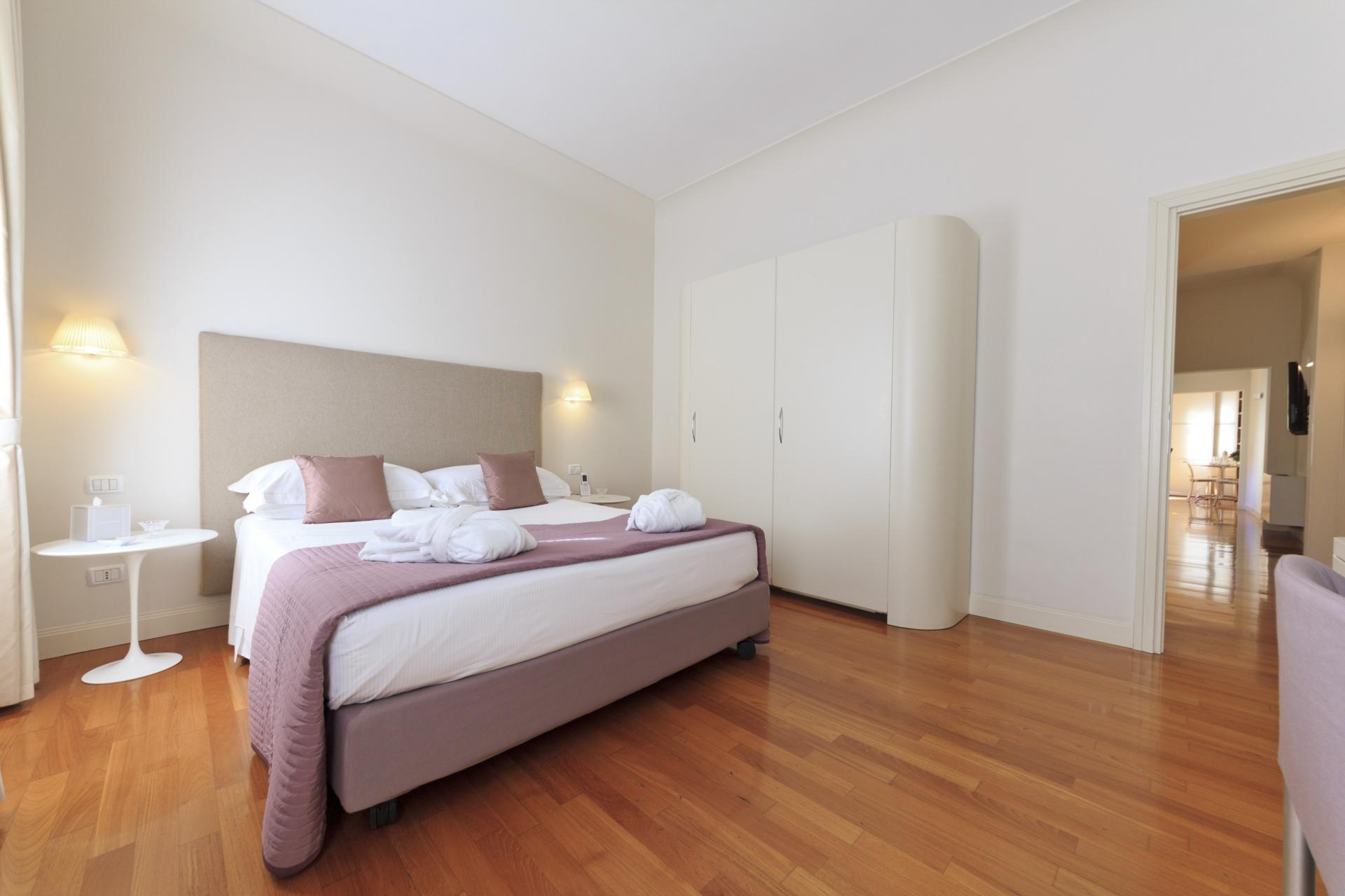 Cosy bedroom at Residence Hilda Apartments