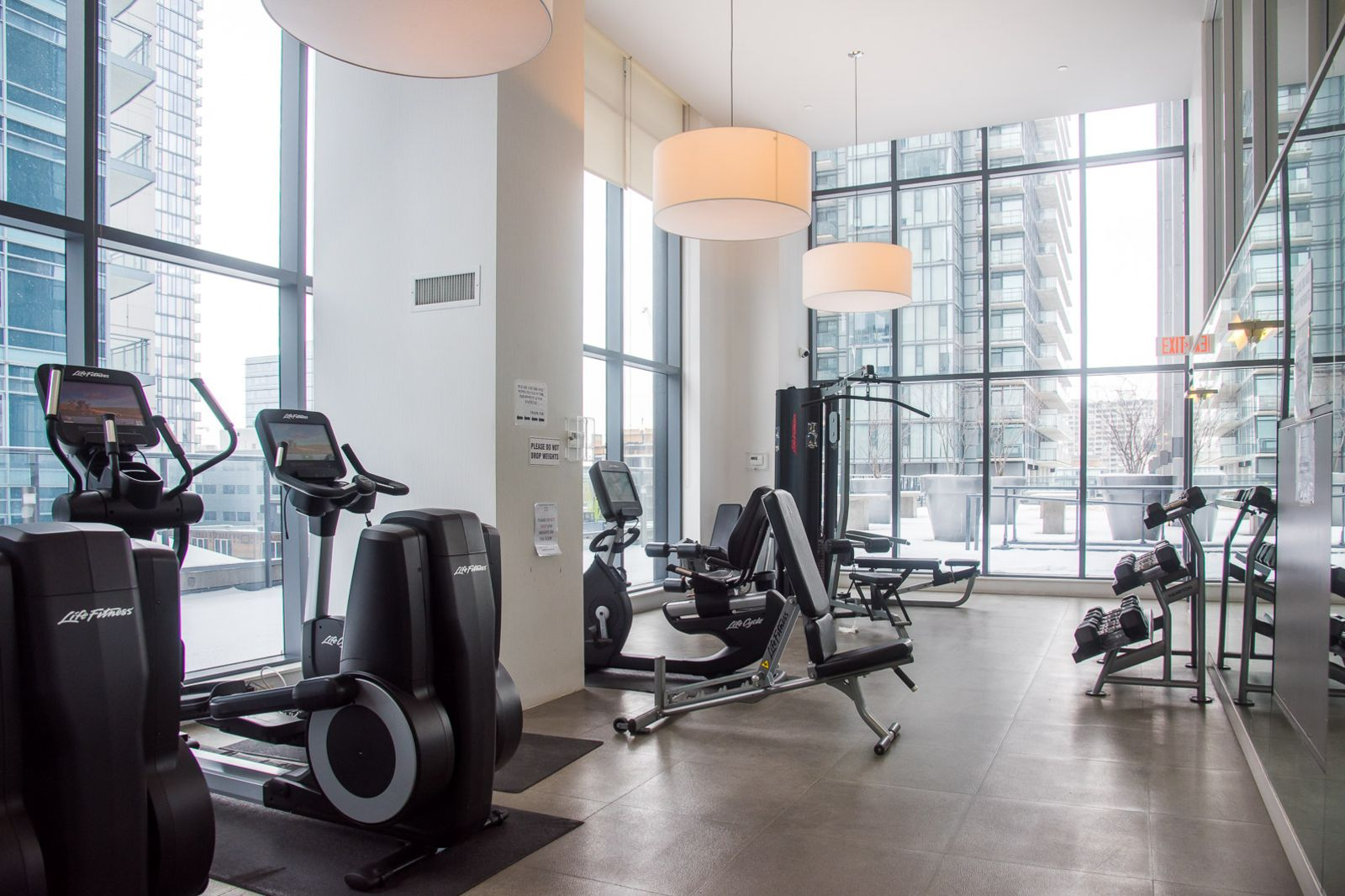 Fitness Centre  at The Pinnacle Apartment