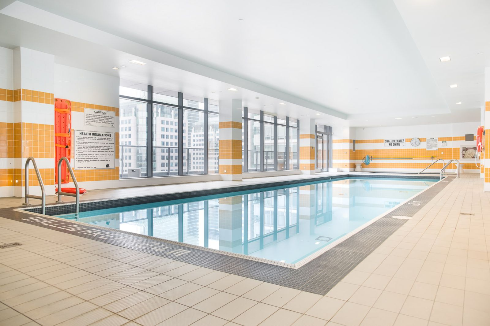 Indoor Pool  at The Pinnacle Apartment