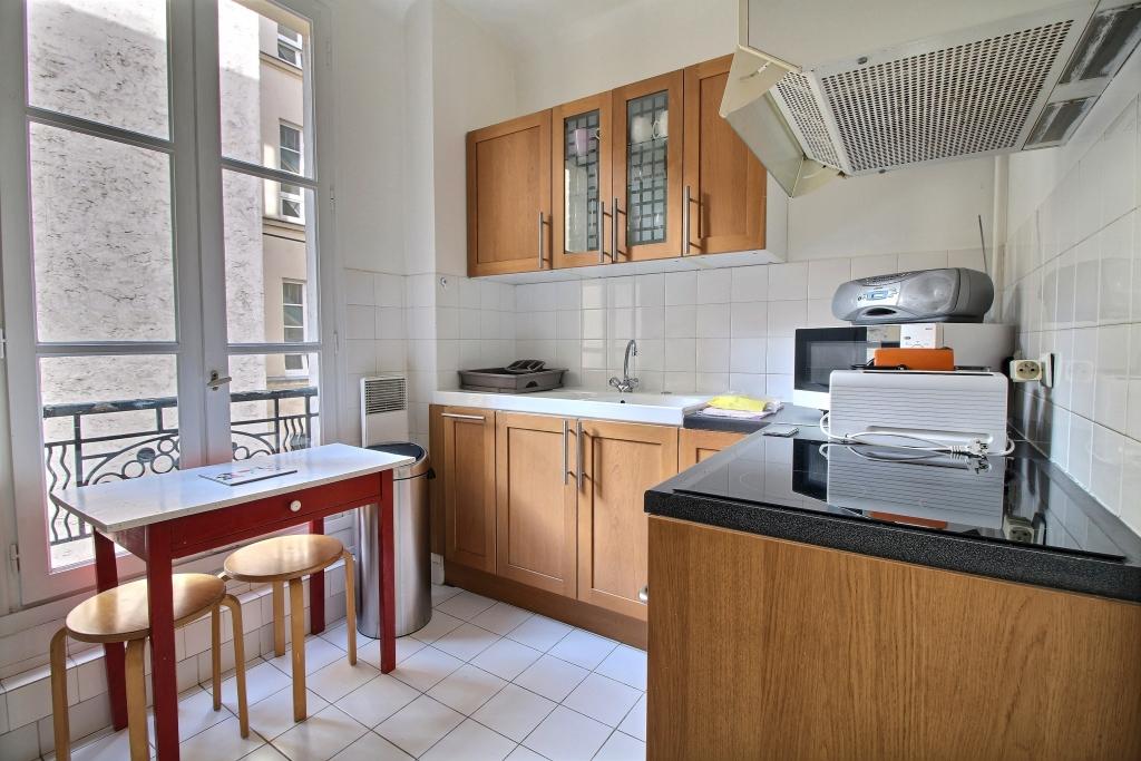 Kitchen at Fondary 42 Apartment, 15th Arr, Paris