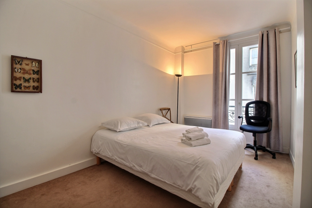 Bed at Fondary 42 Apartment, 15th Arr, Paris