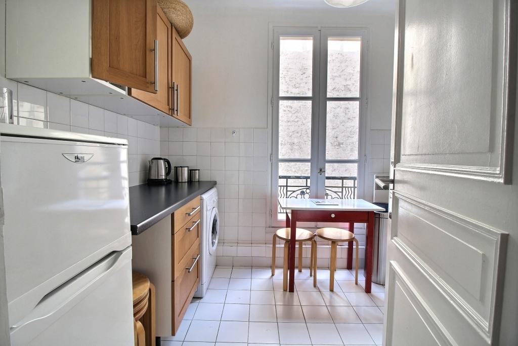 Fridge at Fondary 42 Apartment, 15th Arr, Paris