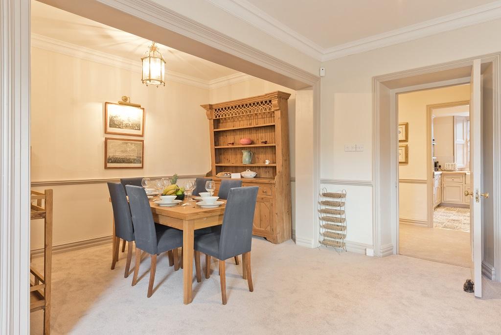 Dining area at Elegant Ballsbridge Apartments