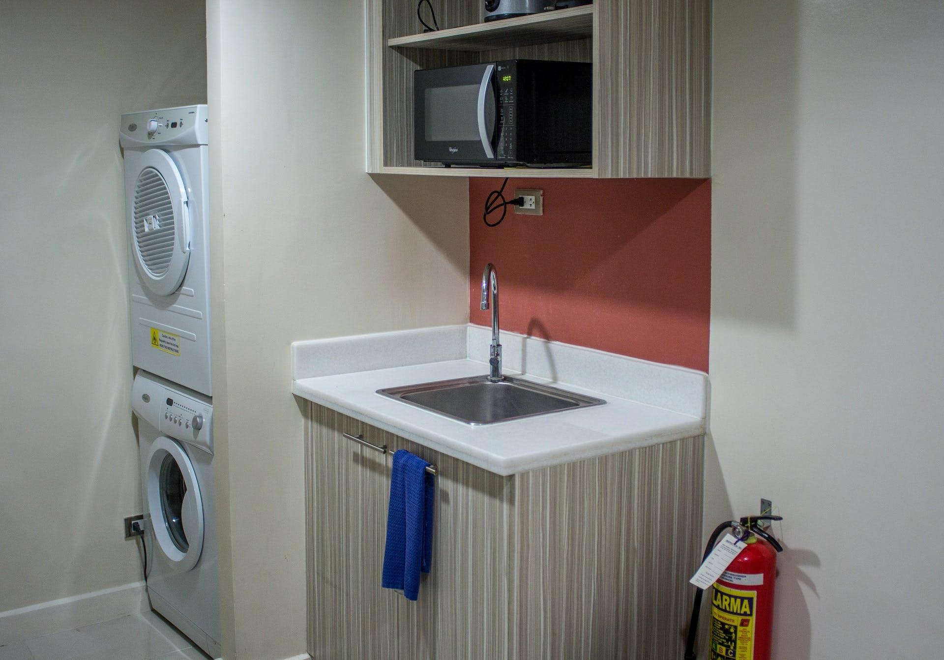 Sink at Alicia Apartelle Apartment