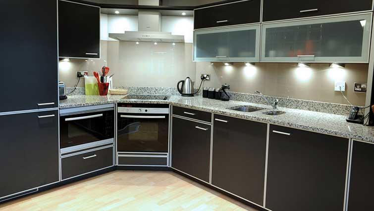 Kitchen at Blake Mews Apartments
