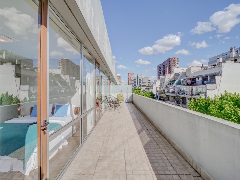Balcony at Palermo Soho Square Apartment, Palermo, Buenos Aires