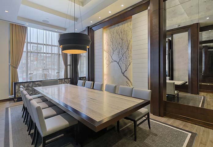 Boardroom at Old Mill Apartments