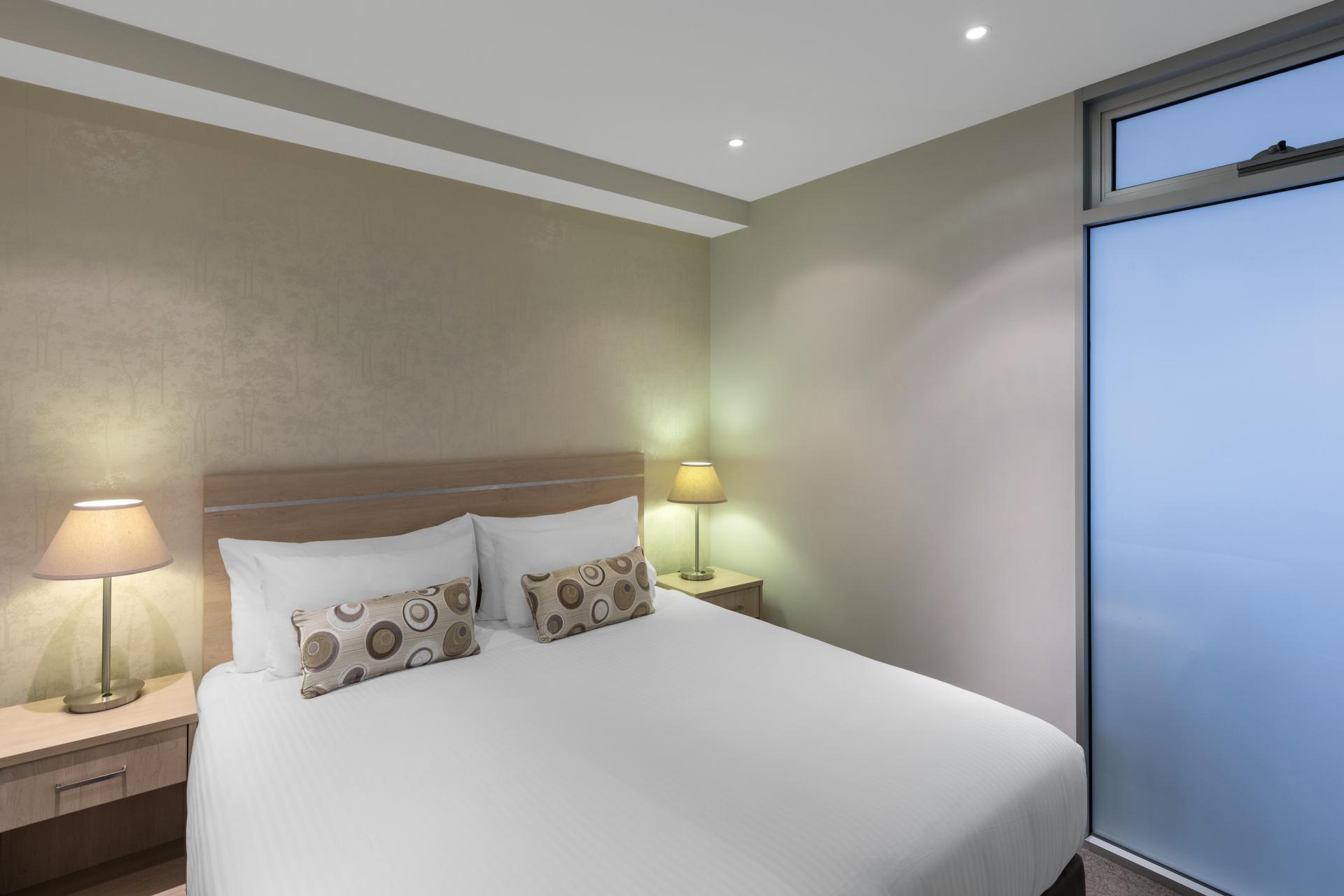 Bedroom at iStay Precinct Adelaide Apartments