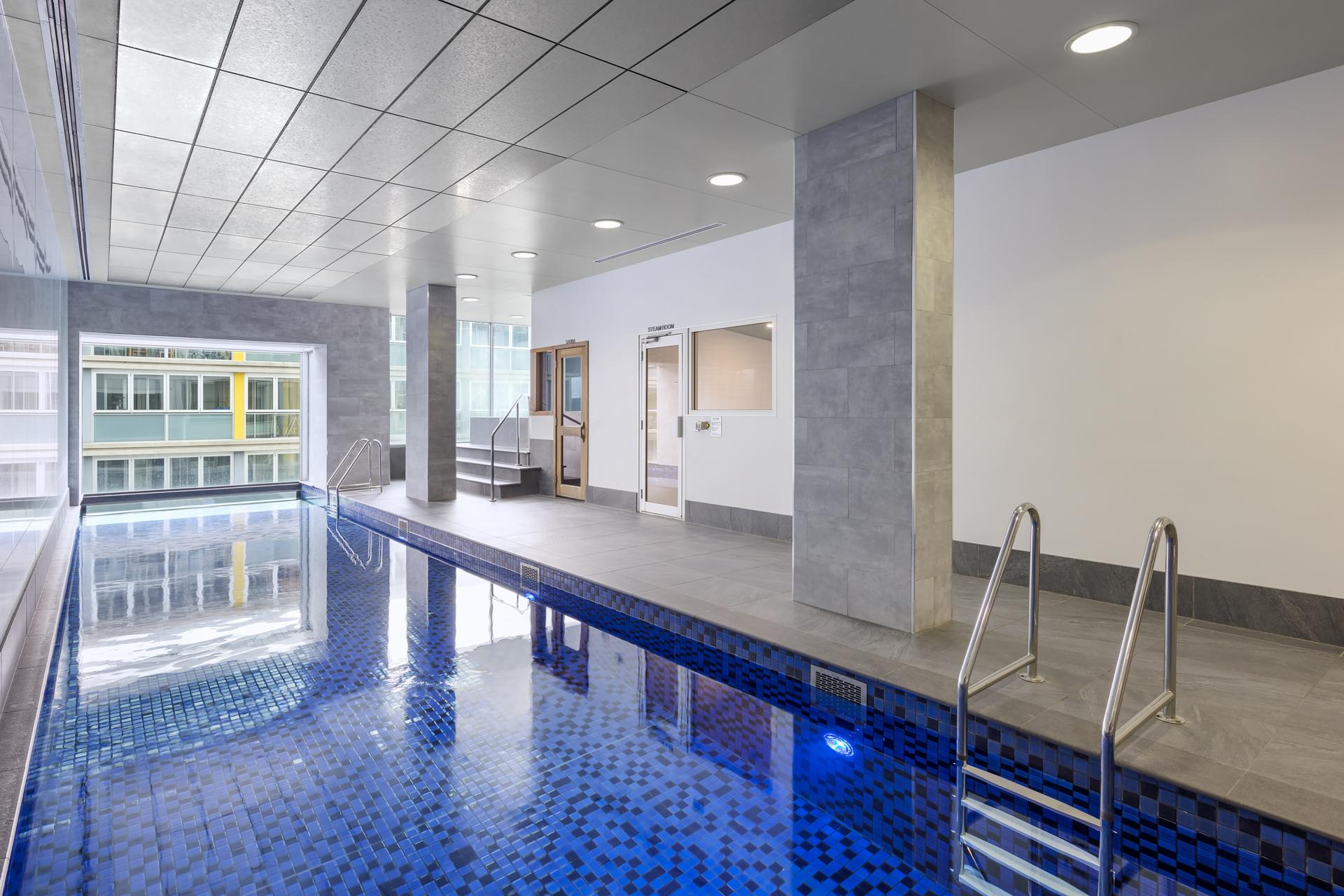 Swimming at iStay Precinct Adelaide Apartments