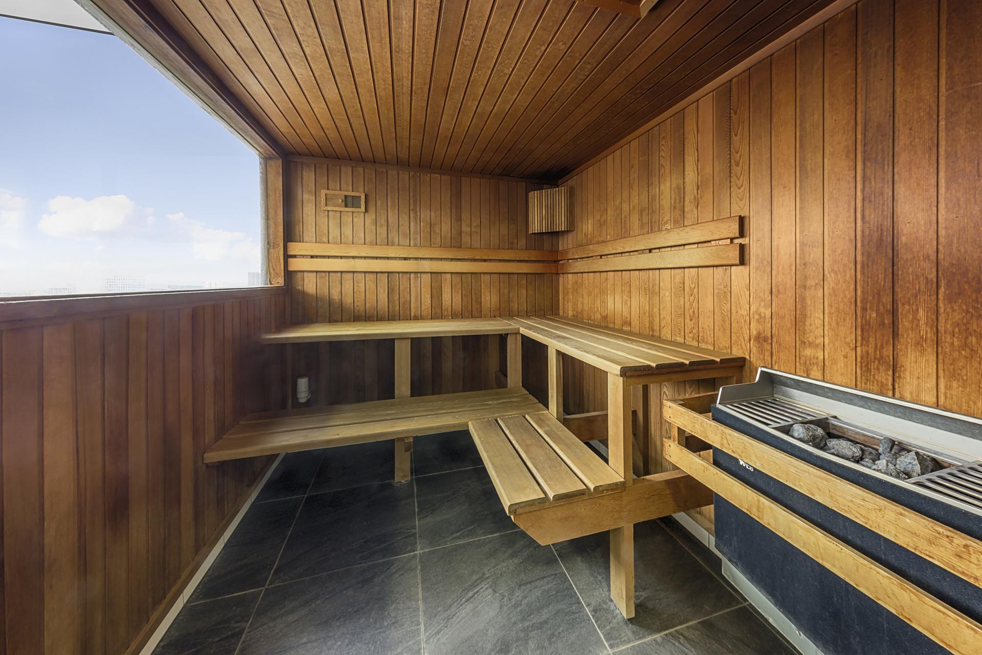 Sauna at iStay Precinct Adelaide Apartments