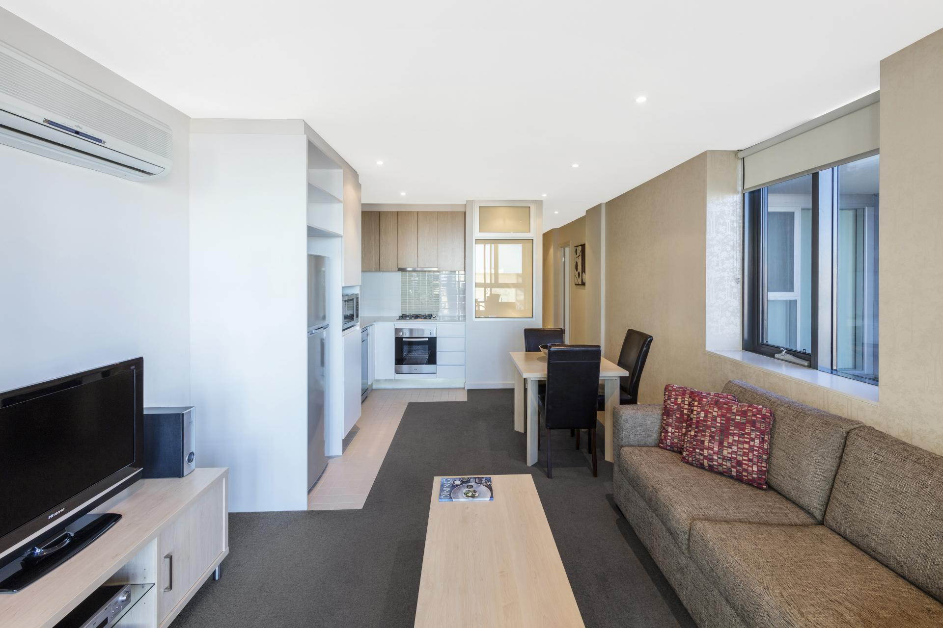 TV at iStay Precinct Adelaide Apartments
