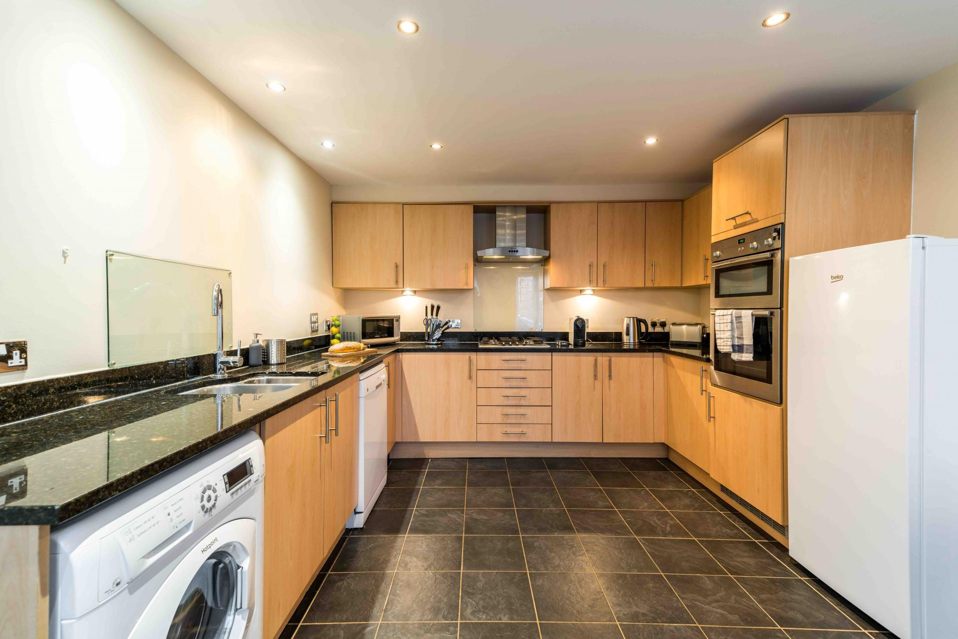 Kitchens at Wingfield Residence