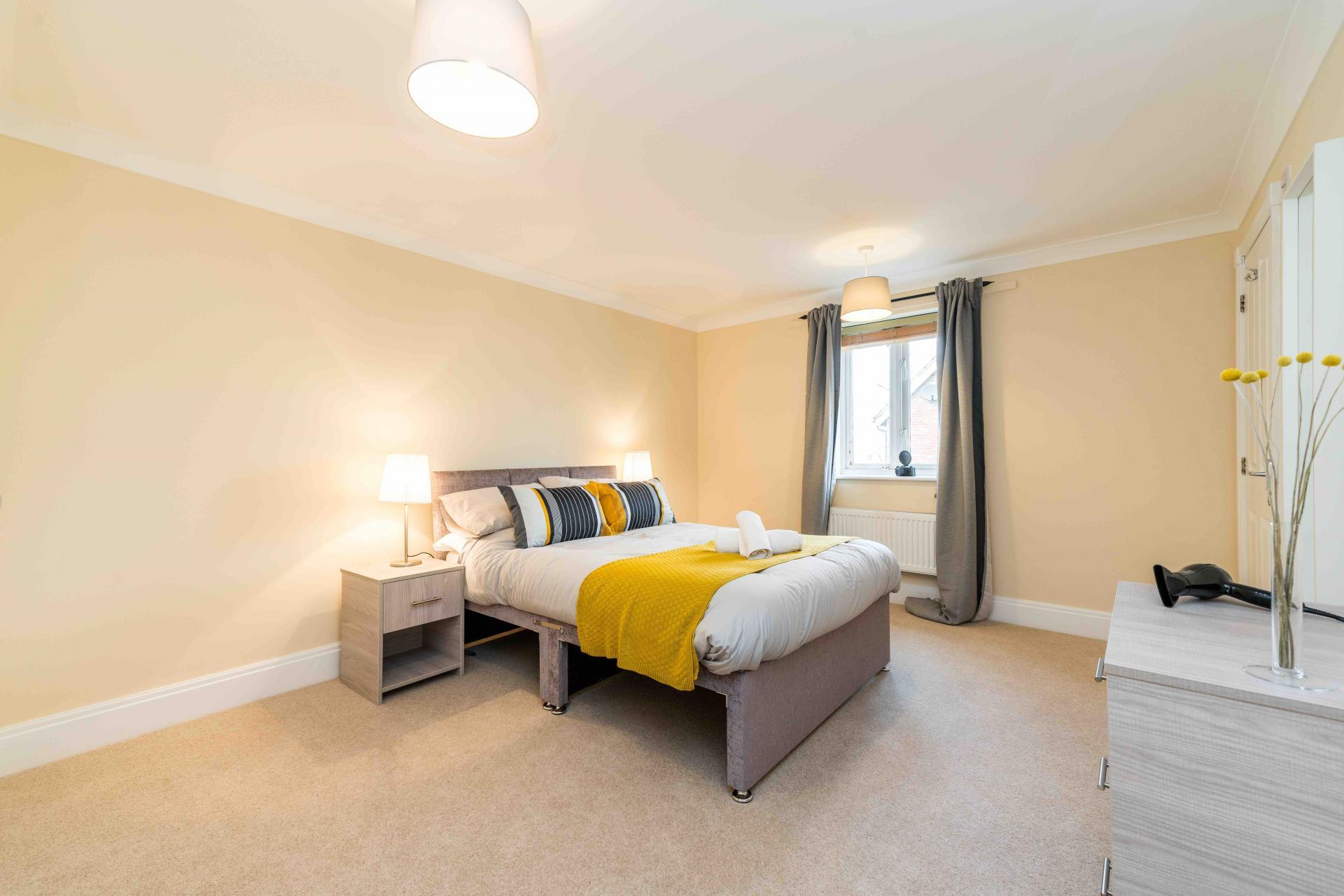 Master Bedroom at Wingfield Residence