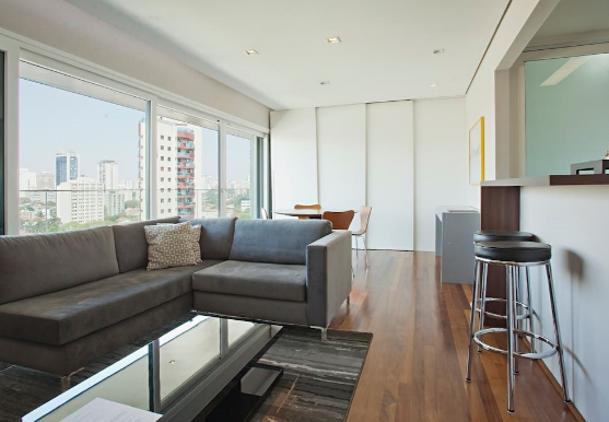 Living room at Jacob Apartment