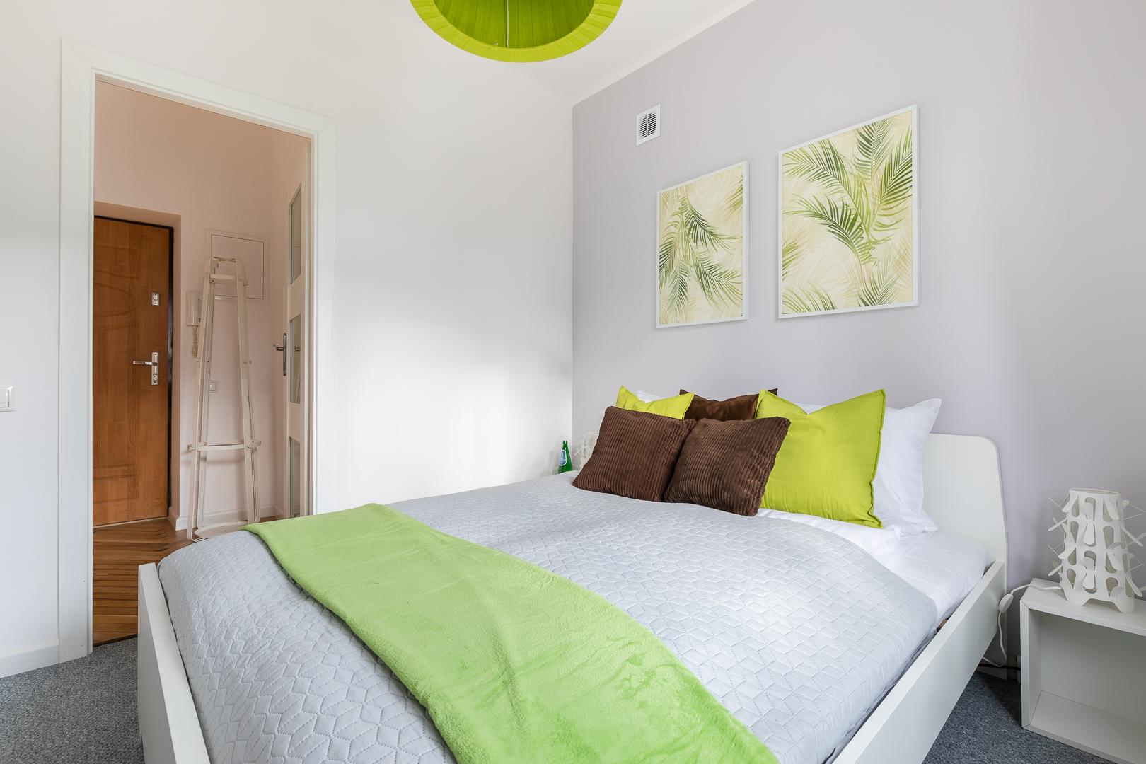Bedroom at Franciszkaska 10 Apartment