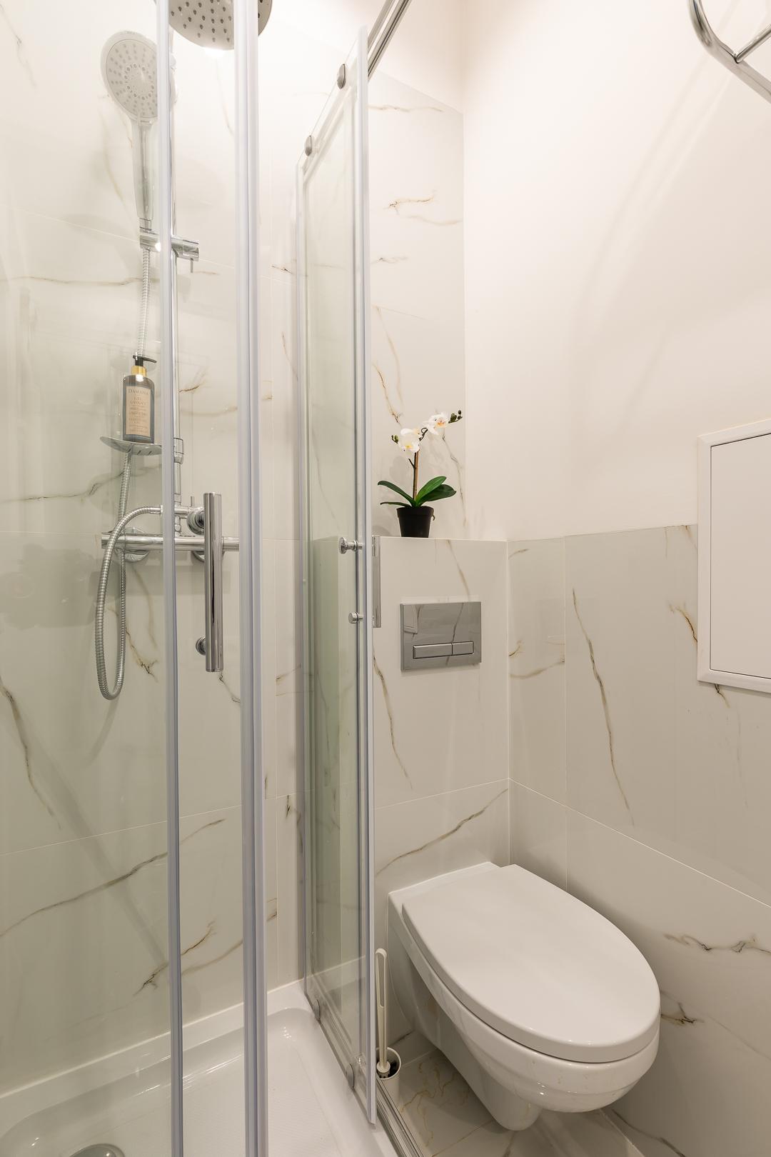 Bathroom at Franciszkaska 10 Apartment