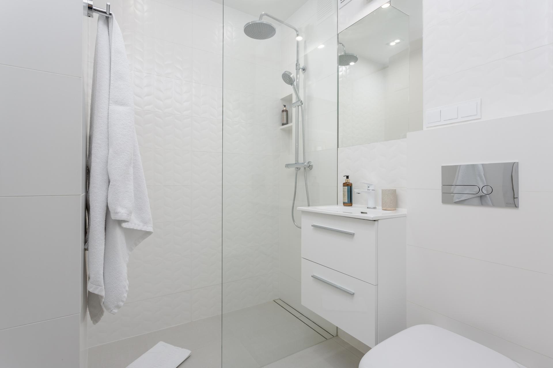 Bathroom at Grzybowska Apartment