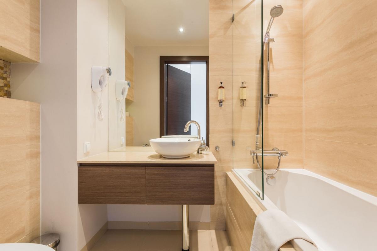 Bathroom at Grzybowska Apartments