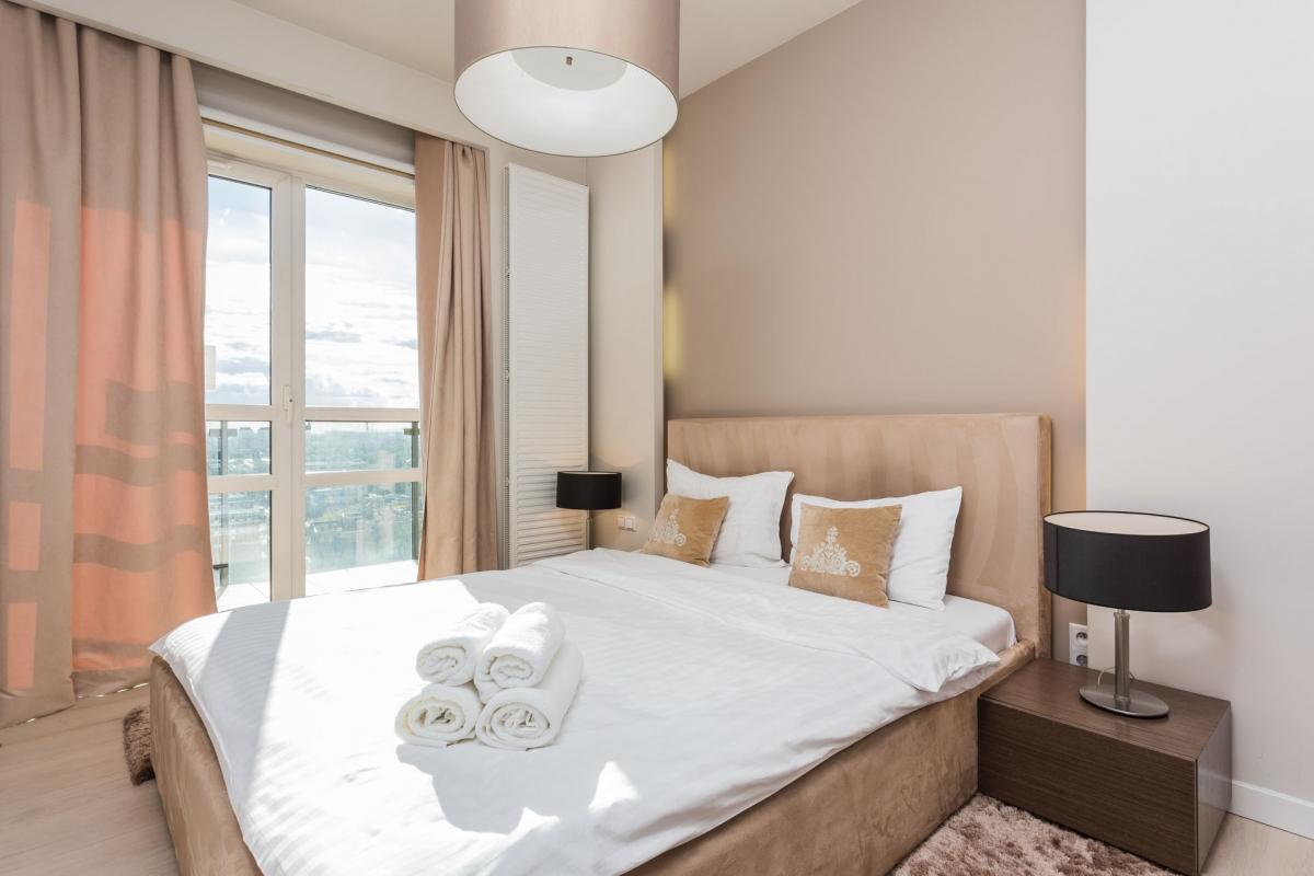 Bedroom at Grzybowska Apartments