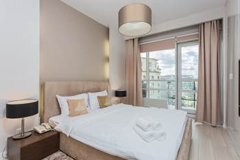 Pillow at Grzybowska Apartments