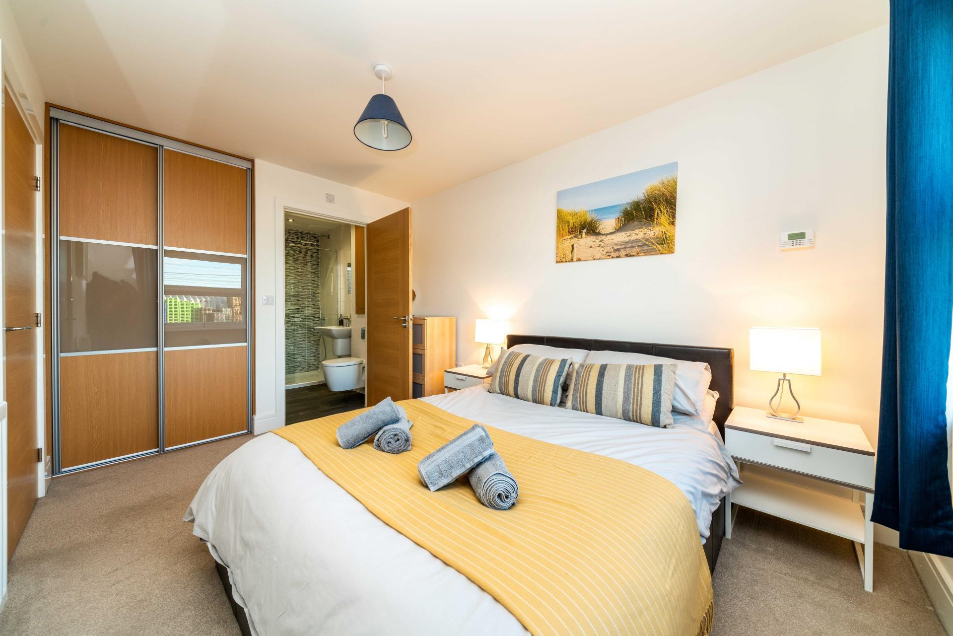 Bedroom 1 at Pilot's Retreat