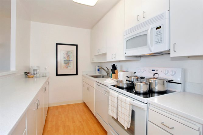 Kitchen at Battery Street Apartment