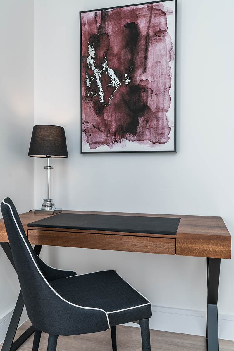 Desk at Deanery Court Apartments