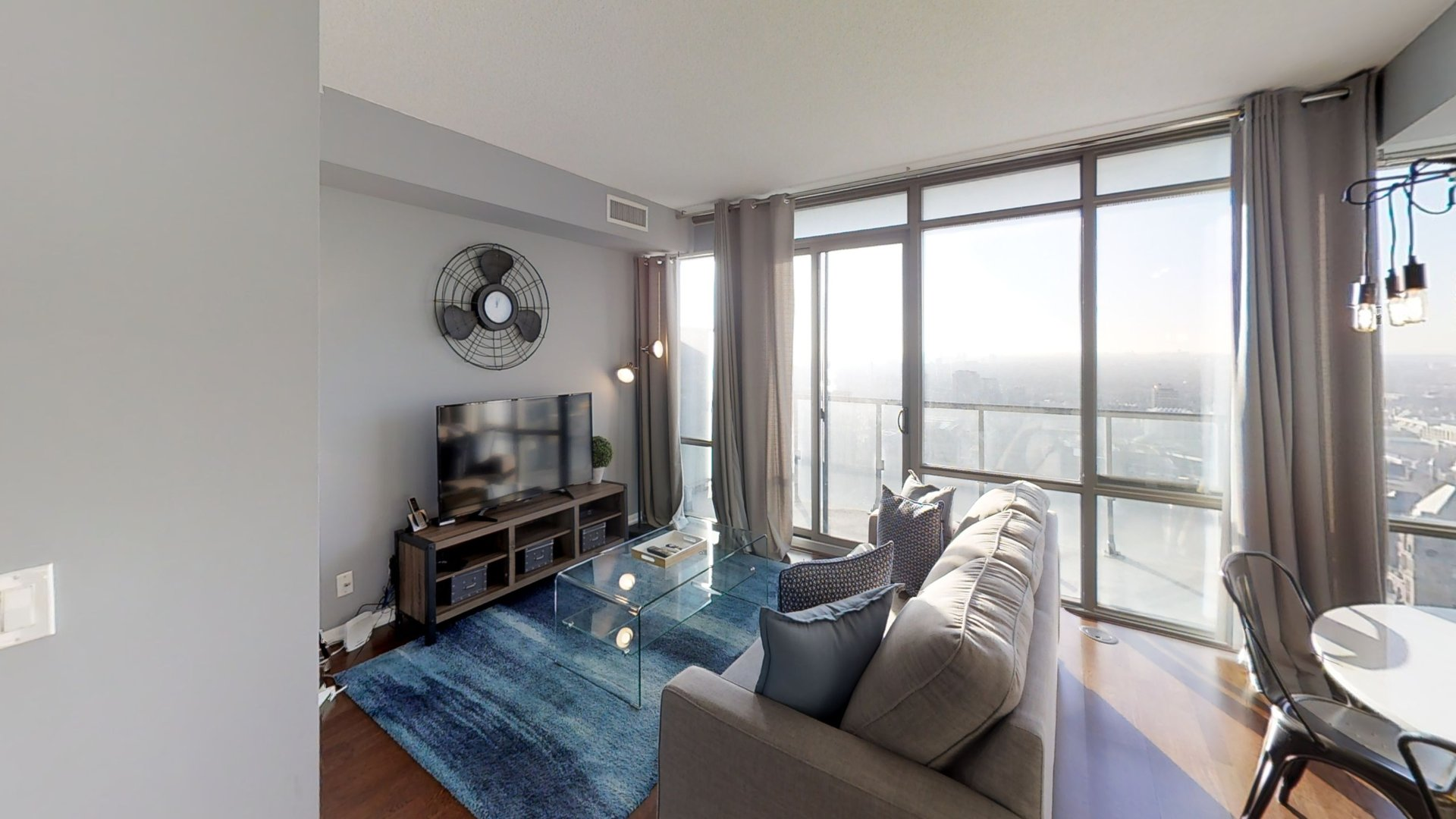 Living room at Burano Apartment