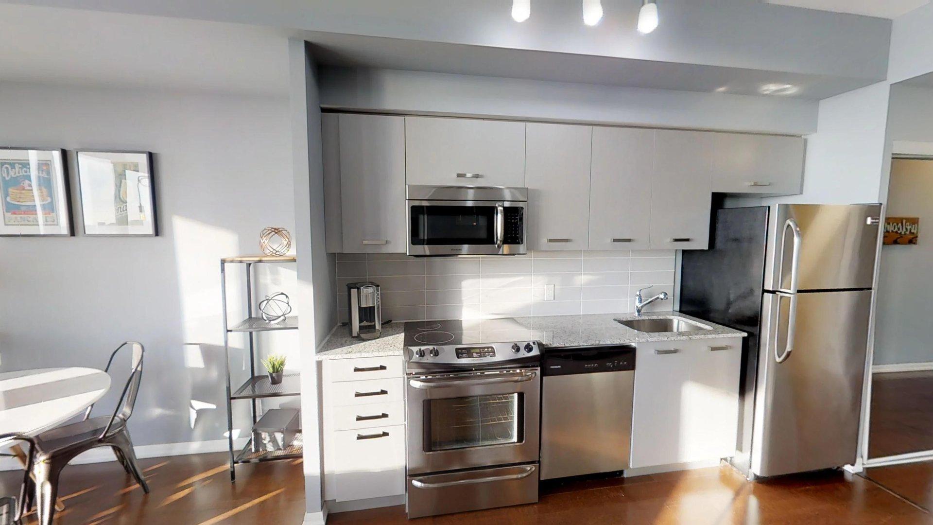 Kitchen at Burano Apartment