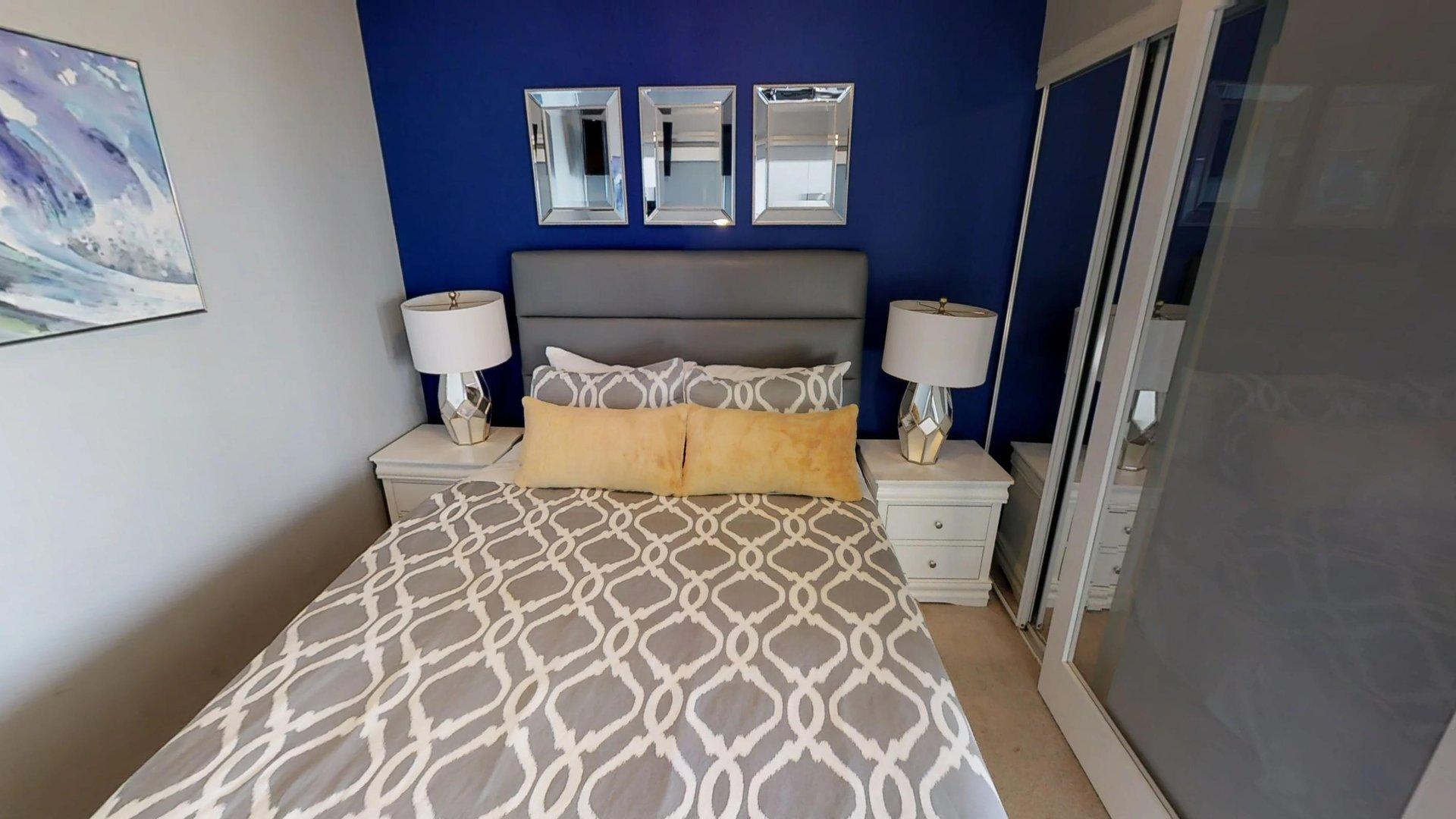 Bedroom at Burano Apartment