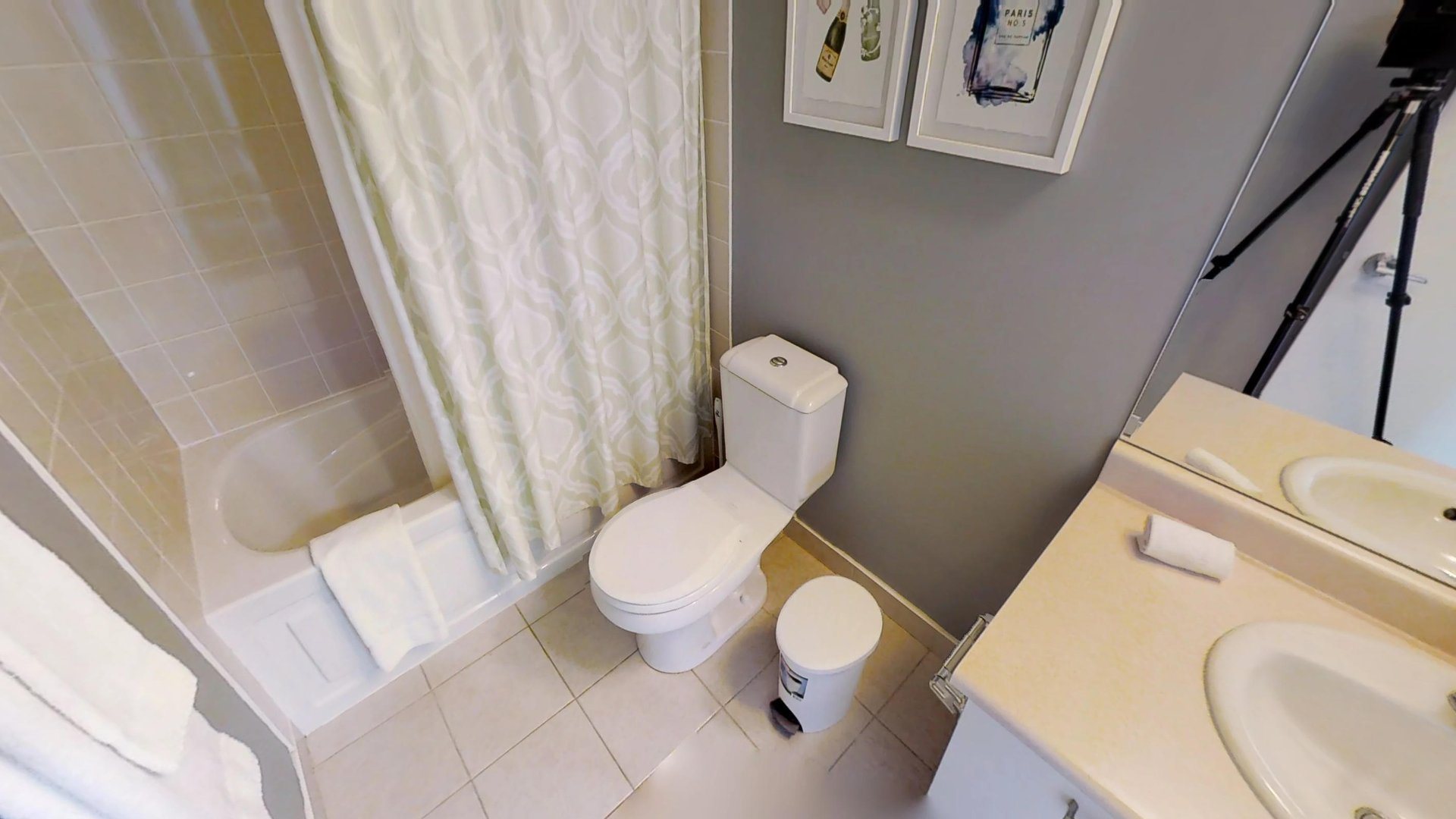 Bathroom at Burano Apartment