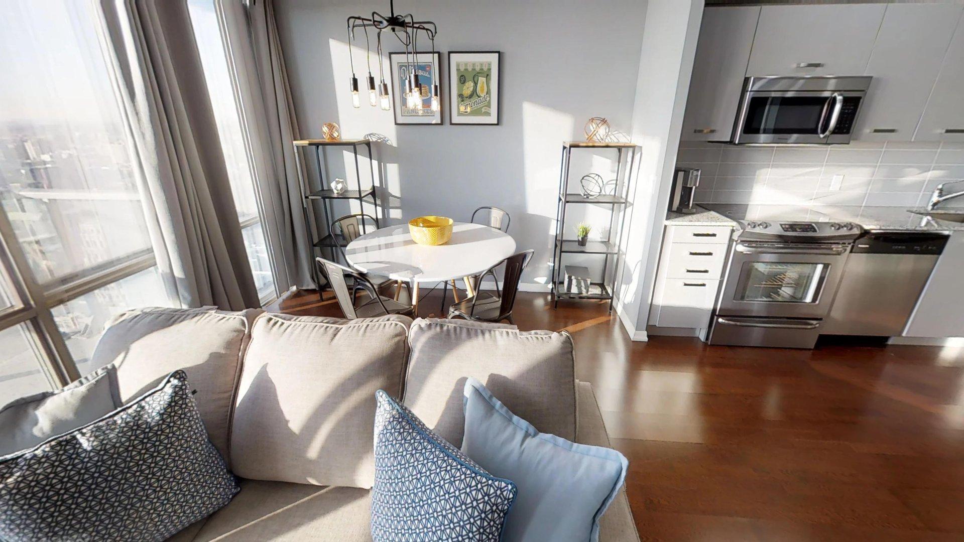 Sofa at Burano Apartment