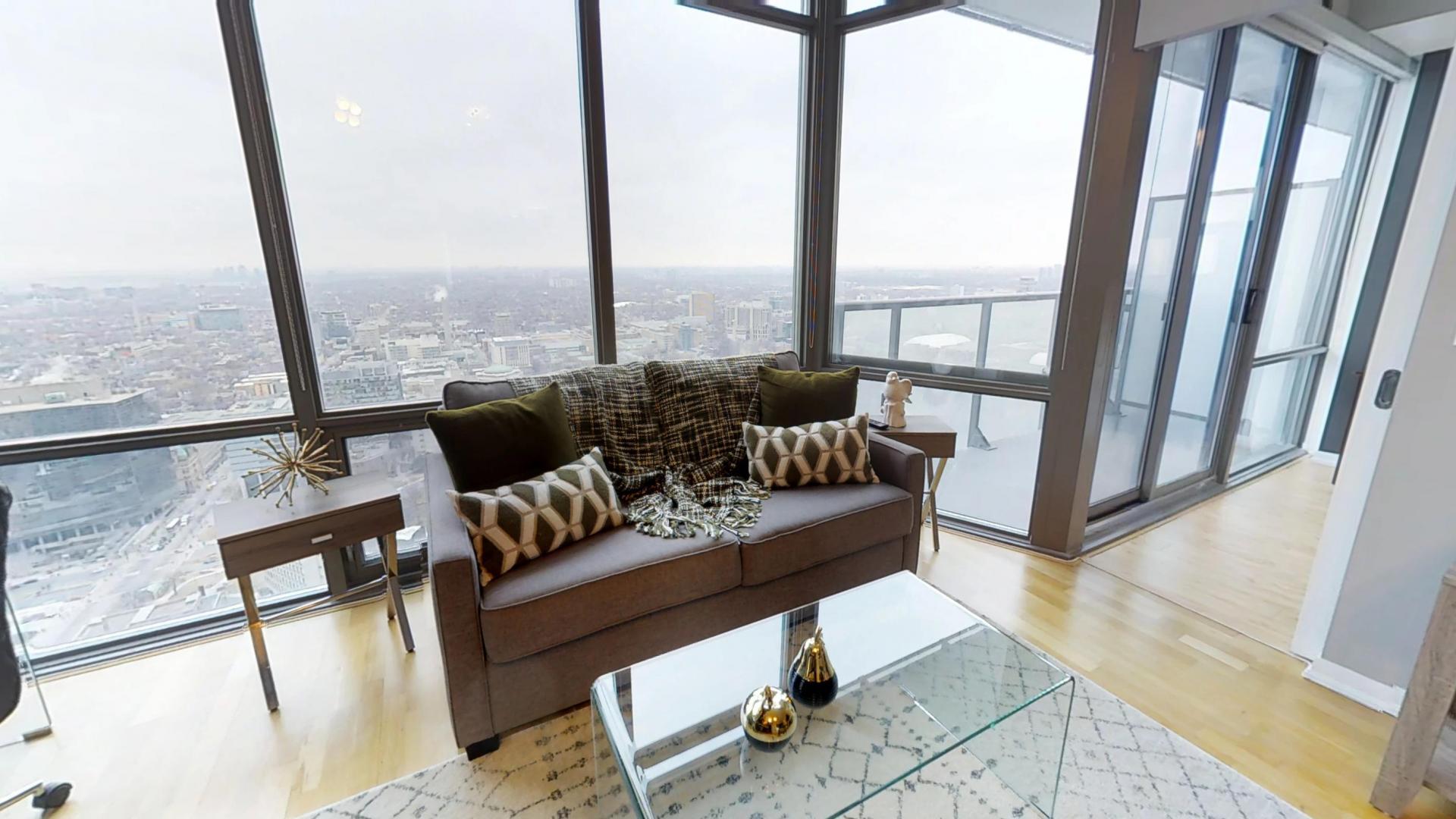 Bright living area at Burano Apartment