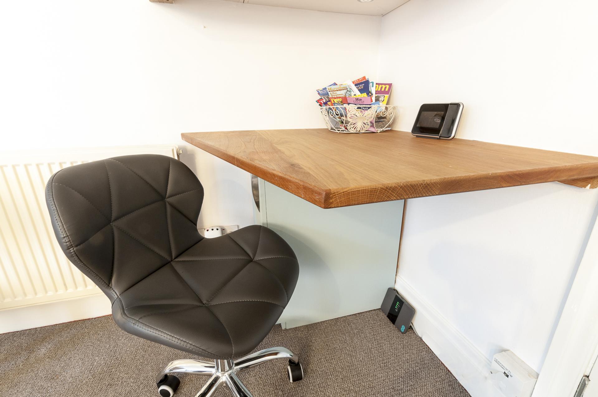Desk at Old Lodge