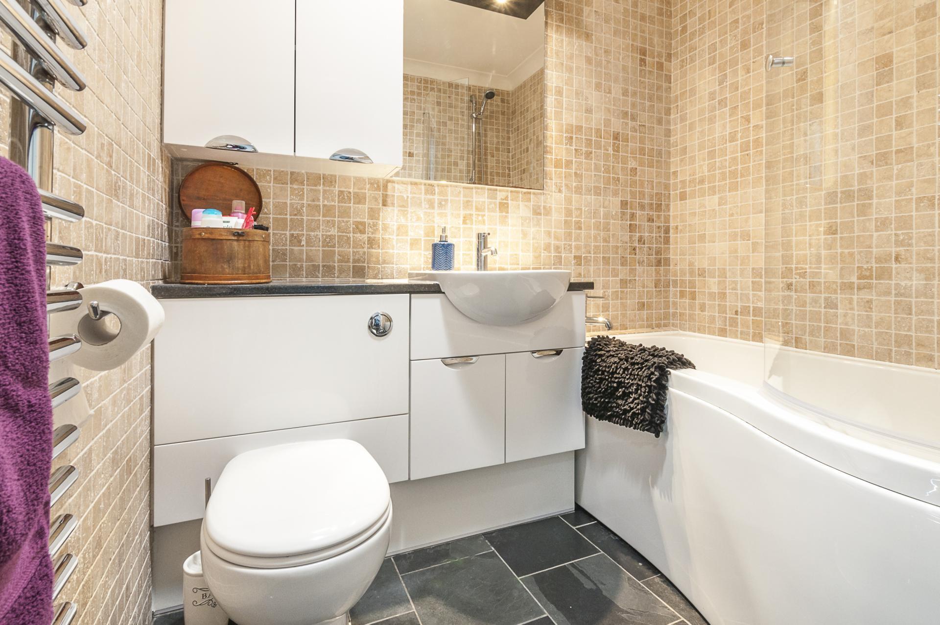 Bathroom at Old Lodge
