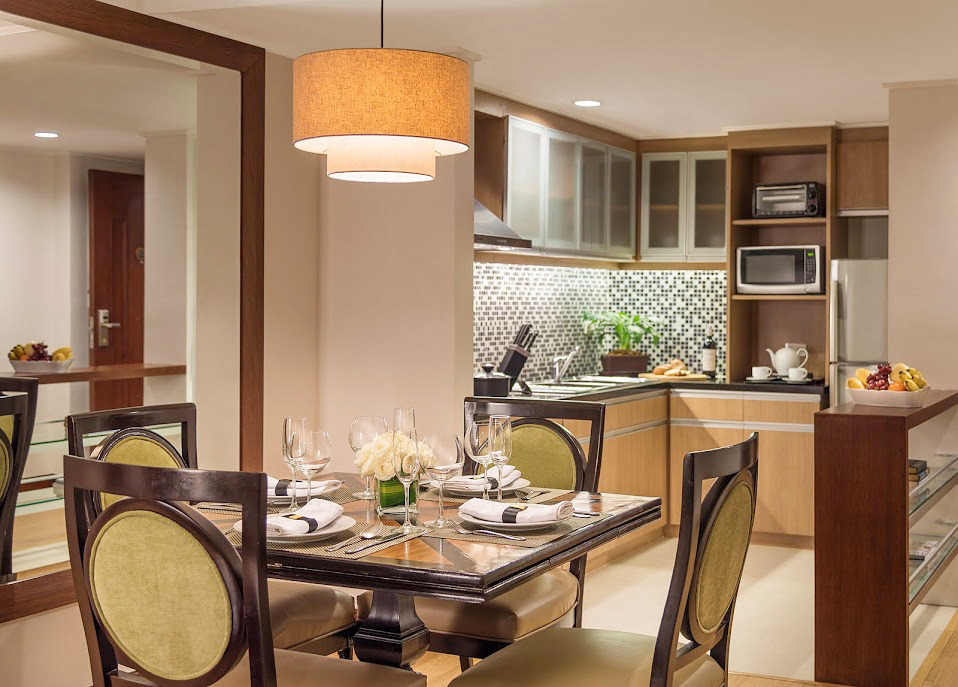 Kitchenette at Ortigas Center Apartments