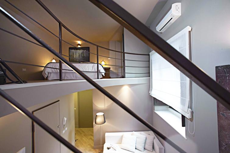 Bed at Via Monte Sant'Agata Apartments