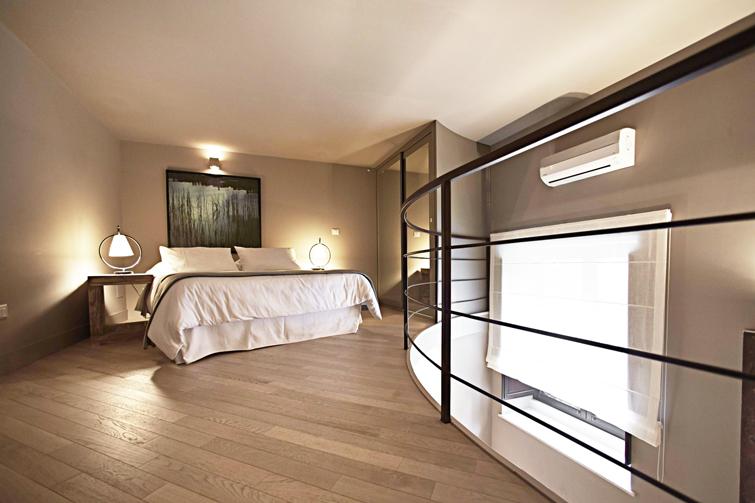 Bedroom at Via Monte Sant'Agata Apartments