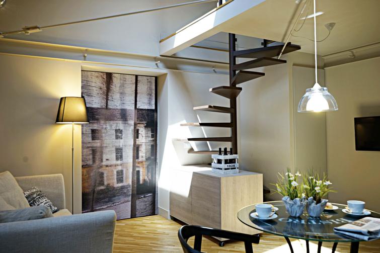 Table at Via Monte Sant'Agata Apartments