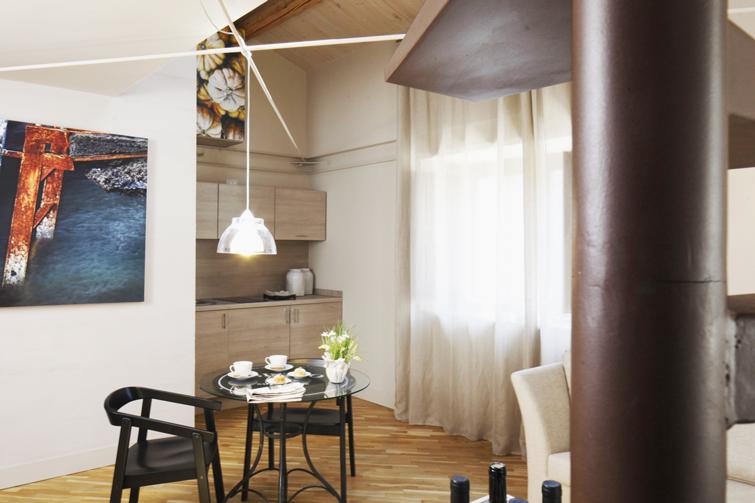 Kitchen at Via Monte Sant'Agata Apartments