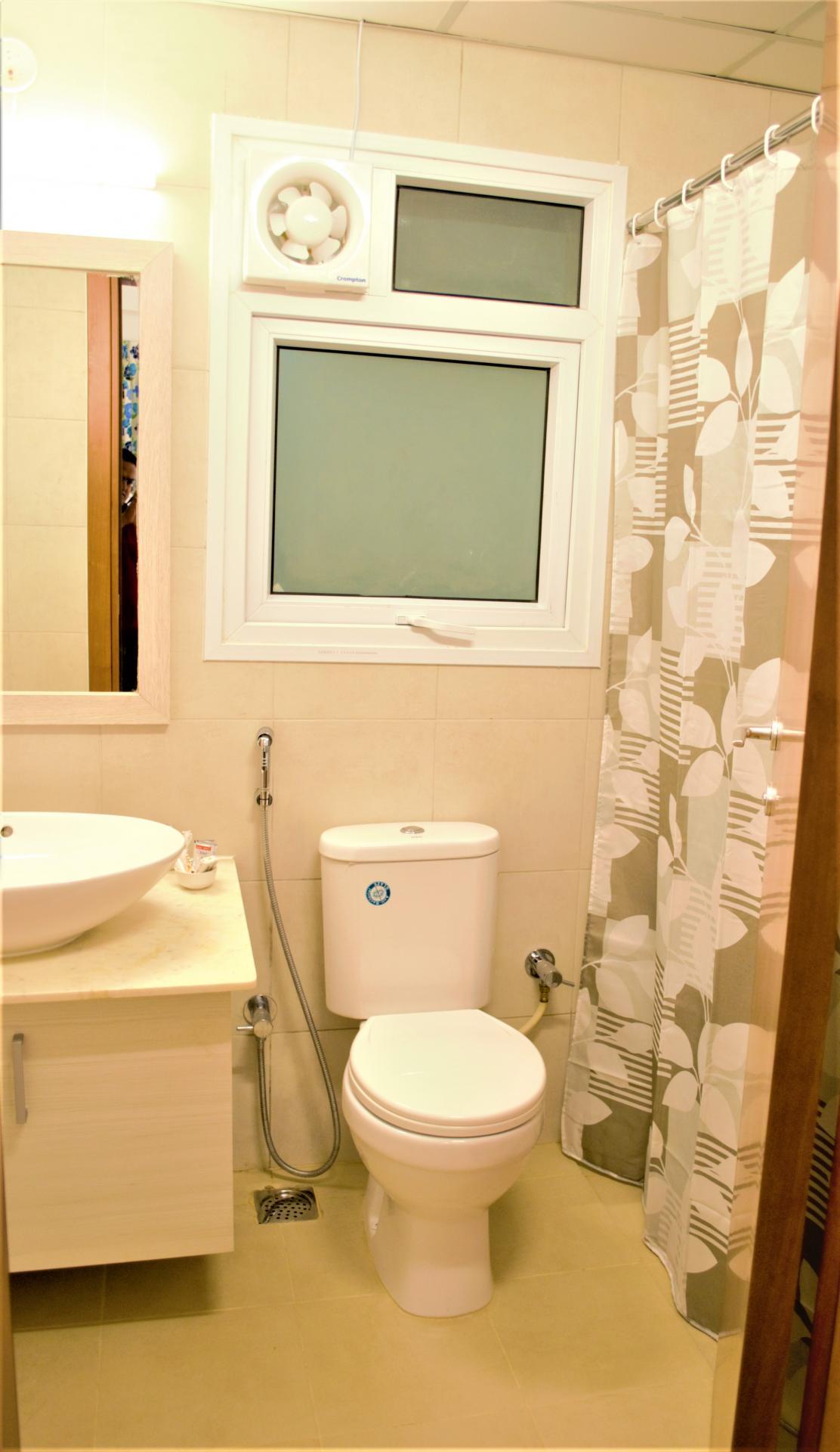 Bathroom at Bhartiya City Apartments